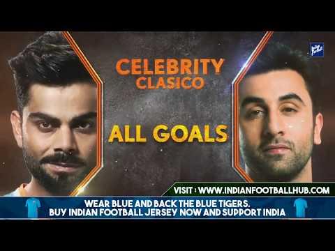 INDIAN TEAM VS BOLLYWOOD TEAM    FOOTBALL MATCH    15/10/2017    7-3