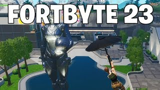 Fortbyte 23 location - Fortnite