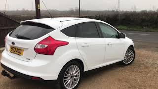 2013 FORD FOCUS 1.0 125 EcoBoost Zetec FOR SALE | CAR REVIEW VLOG