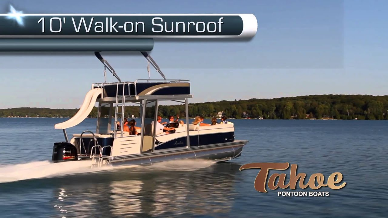 2013 Pontoon Boats Tahoe C Funship Hd 1080 Youtube