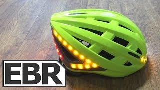 Lumos Helmet Video Review - $199 Smart LED Bicycle Helmet with Turn Signals