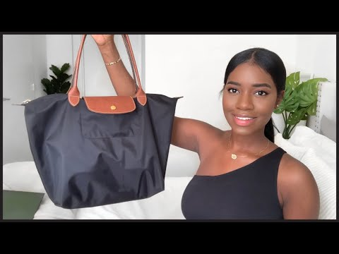 What's In My Work Bag | Longchamp Le Pliage Tote (large)