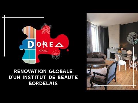 Décoration d'un célèbre Institut de Beauté dans un appartement Bordelais du Triangle d'Or par DOREA