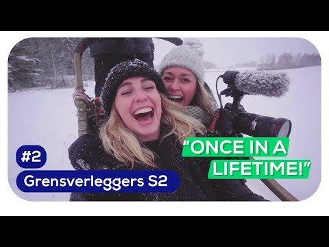 IRIS & INGRID in Helsinki. Vrieskou, liften en een husky tour! | Transavia Grensverleggers S2 #2