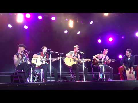 Quit Playing Games With My Heart - Backstreet Boys @ Live At Sunset, Zurich 17.07.2014