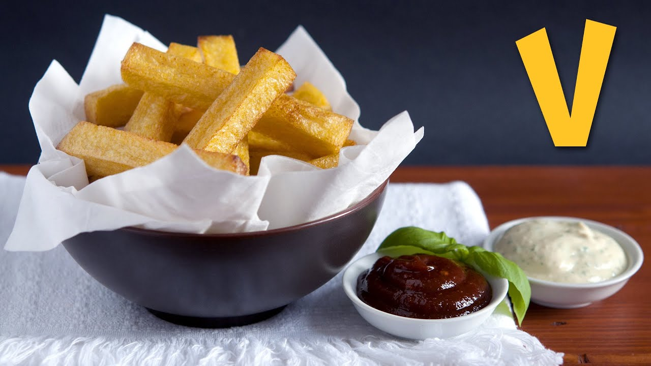 Chunky Polenta Fries (Chips)