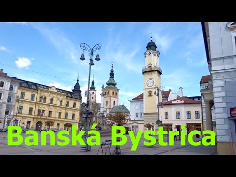 Banská Bystrica, THE MOST BEAUTIFUL CITY IN SLOVAKIA, PLACES TO SEE SLOVAKIA, BANSKA BYSTRICA