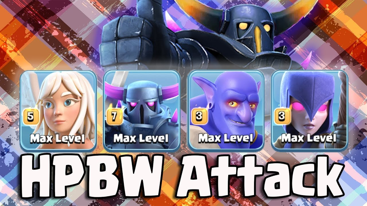 HPBW Strategy 2018 | Best Queen Walk Army Th11 War 3 Star Attack Guide  Clash Of Clans