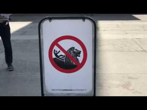 No Fun in Trafalgar Square