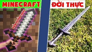Minecraft Đời Thực #3 : Vũ Khí Vip Huyền Thoại ??