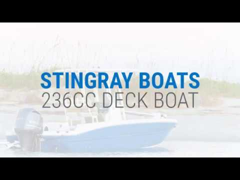 STINGRAY 236CC Deck Boat