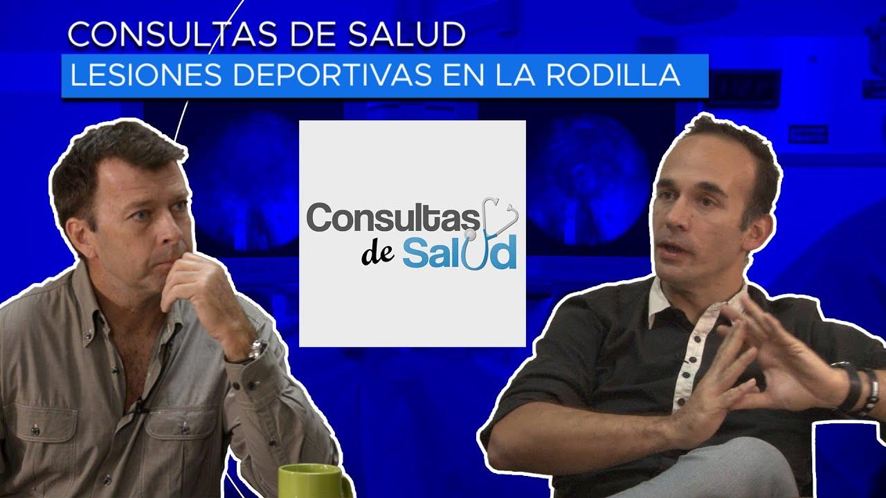 Lesiones deportivas en la Rodilla 🚴♀️⚽️🏀🏈 Dr. Gustavo Alvarez | Presentado por Vicente Tepedino