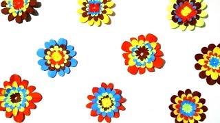 Flower wall easy background DIY- Tuber Tip