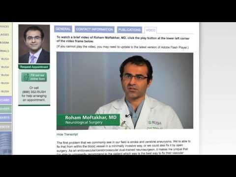 Find-a-Doctor: Videos Help Patients Choose Doctors