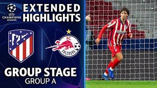 Atlético Madrid vs. RB Salzburg: Extended Highlights | UCL on CBS Sports