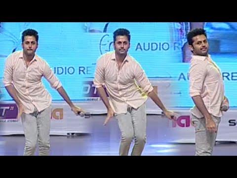 Nithin Crazy Dance Moments @ A Aa Audio Launch | I Love Pawan Kalyan | TFPC