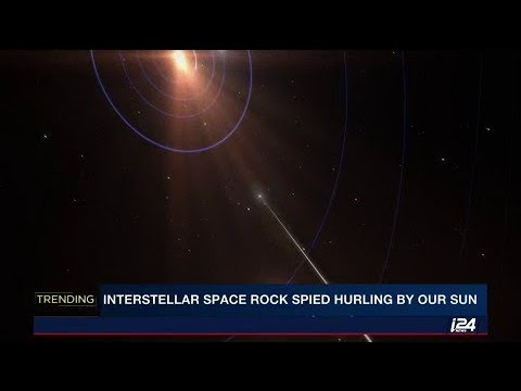 Interstellar object from another solar system named 'Oumuamua' observed passing our sun