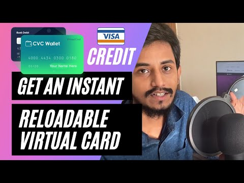 How To Get A Virtual Card | Create A Reloadable Instant Virtual Credit Card In Your Name