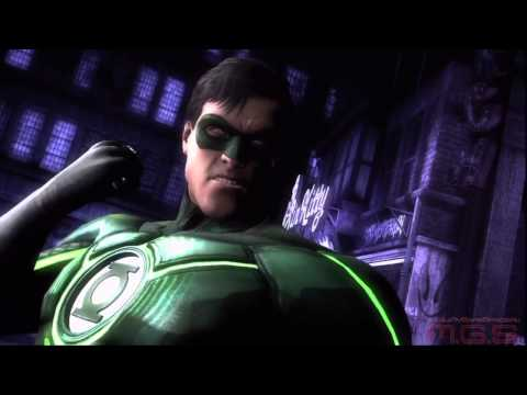 Injustice: Gods Among Us - Трейлер Зелёный Фонарь