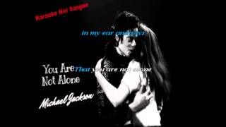 You are not alone |Michael Jackson | Karaoke