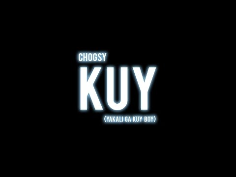 Chogsy - KUY (Official Audio) *Unmastered Ft. Teman-teman