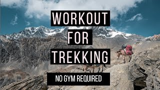 Training for a Trek - Bodyweight Workout