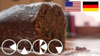 Rotweinkuchen Rezept - Red Wine Cake Recipe