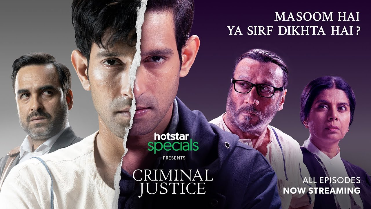 VoxSpace Selects] Criminal Justice By Hotstar : A Promising ...