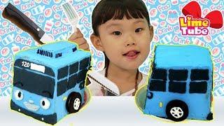 타요 케이크 먹방 동요 놀이 Learn Colors with johny johny yes papa Finger Family Song for Kids Children