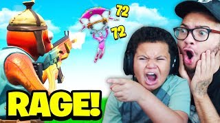 FaZe Kaylen PLAYS Zone Wars For the FIRST Time! (KID GETS MAD AT TEAMERS!) Fortnite