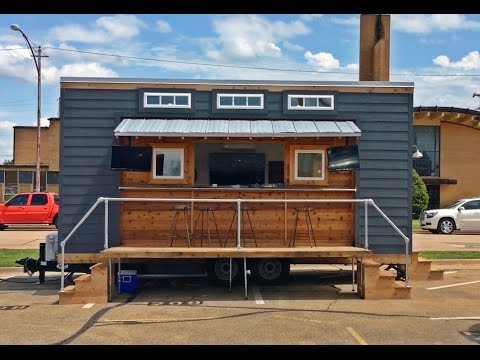 Tiny House Built For...Tailgating? Why Not