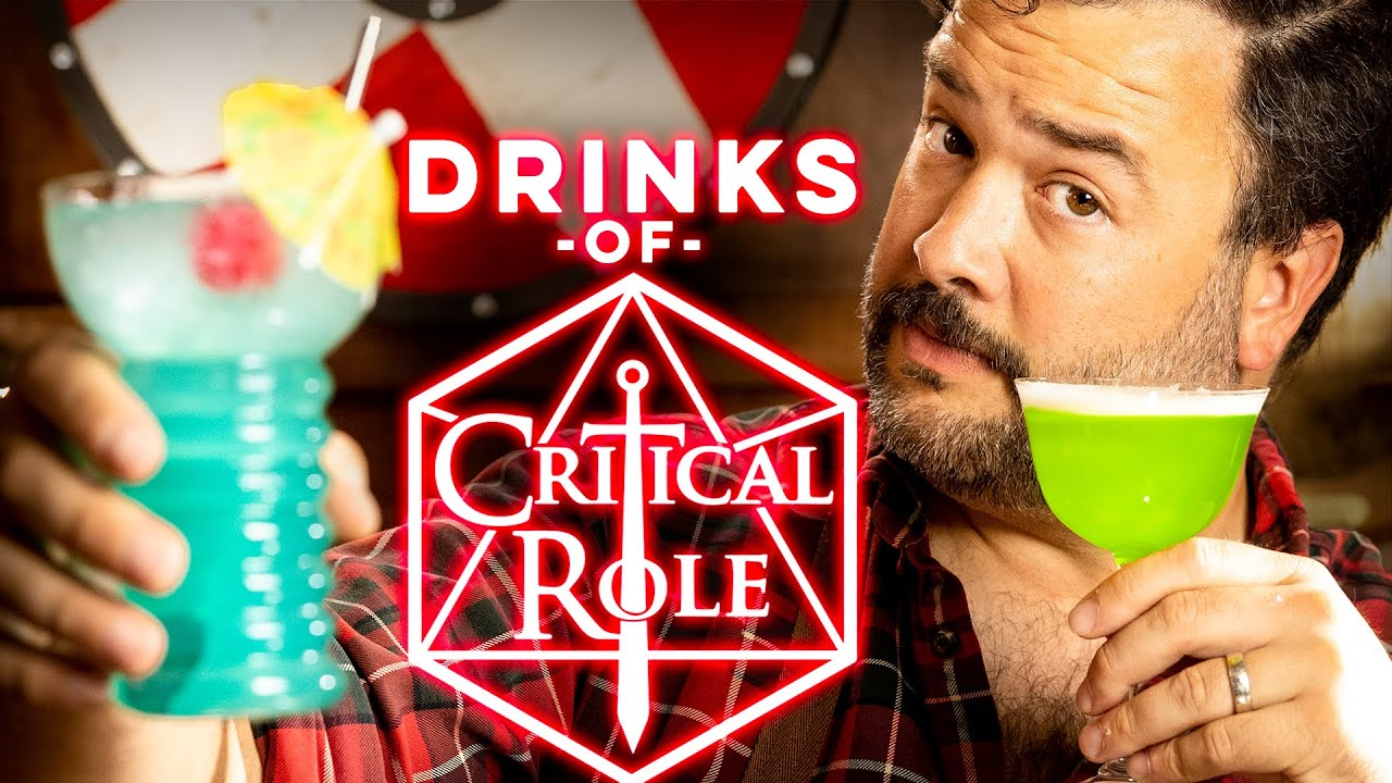 Cocktails from Critical Role Part 1 | How to Drink