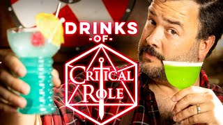 Cocktails from Critical R๐le Part 1 | How to Drink