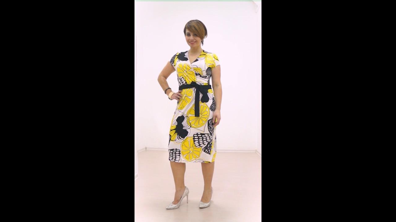 Летнее платье на запах от Петербургского Модного дома