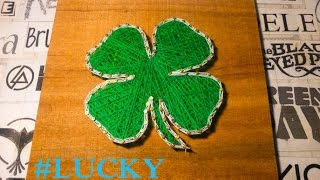 Creative Ideas - String Art Four Leaf Clover (Lucky Grass)