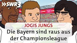 Jogis Jungs – Die Bayern sind raus aus der Championsleague