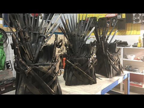 DIY | how to make an iron throne