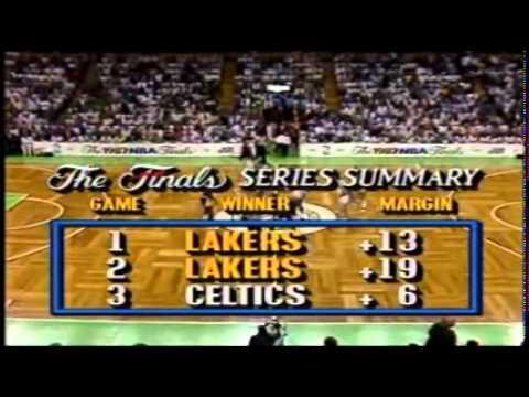 1987 NBA Finals Gm. 4 Lakers vs. Celtics (1/7)