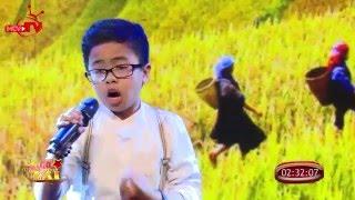 """""""Con cò"""" qua giọng hát vút bay của cậu bé 12 tuổi."""