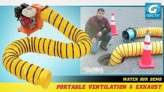 portable ventilation fans and exhaust