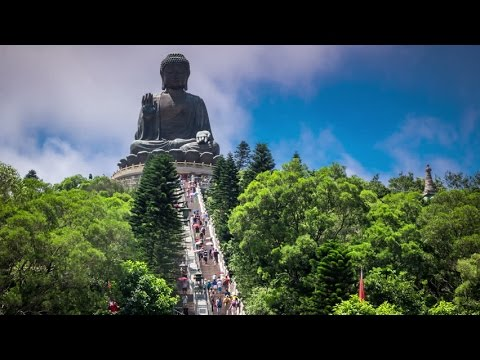 The Big Buddha (Tian Tan Buddha) - Lantau Island Hong Kong