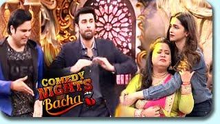 Deepika Padukone & Ranbir Kapoor On Comedy Nights Bachao | Tamasha Promotion | 28th Nov Episode