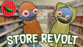 SHOPPING SPREE OF MADNESS! -- Store Revolt (PC Alpha Demo Gameplay)