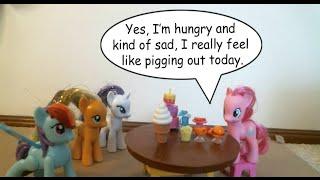 English Phrasal Verb 'Pig out'