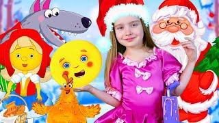 Новогодняя история Мультфильмы для детей Машулины сказки Сказки для малышей