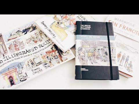 My 4 Favorite Urban Sketch Books | Ch▲r ▼illen▲