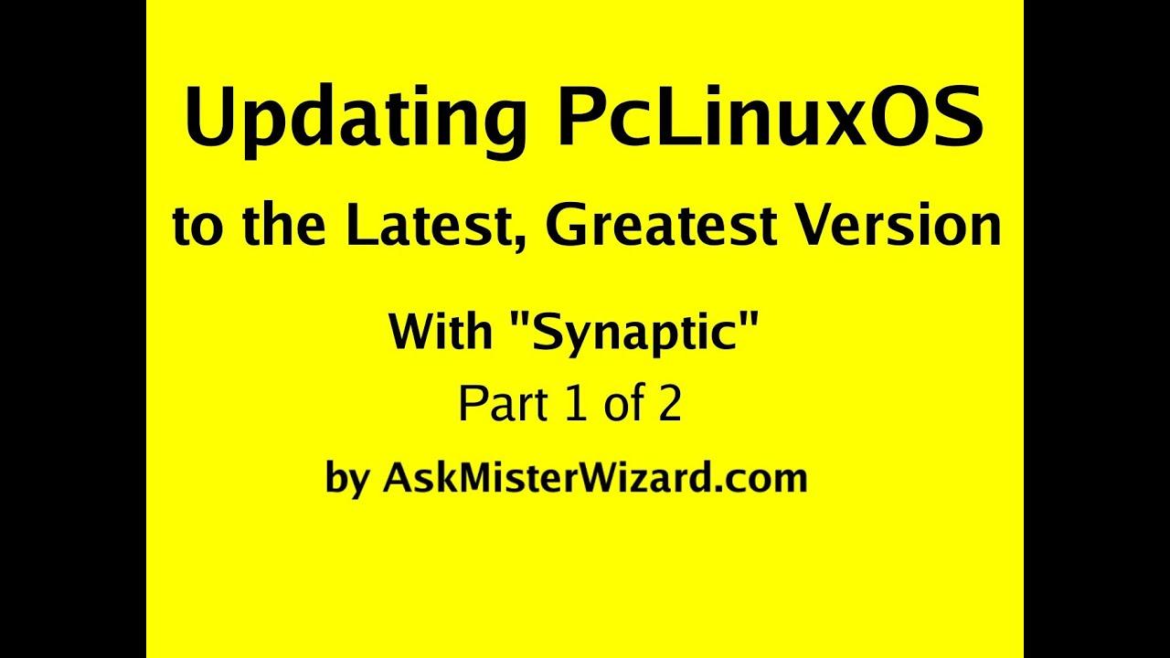 updating pclinuxos
