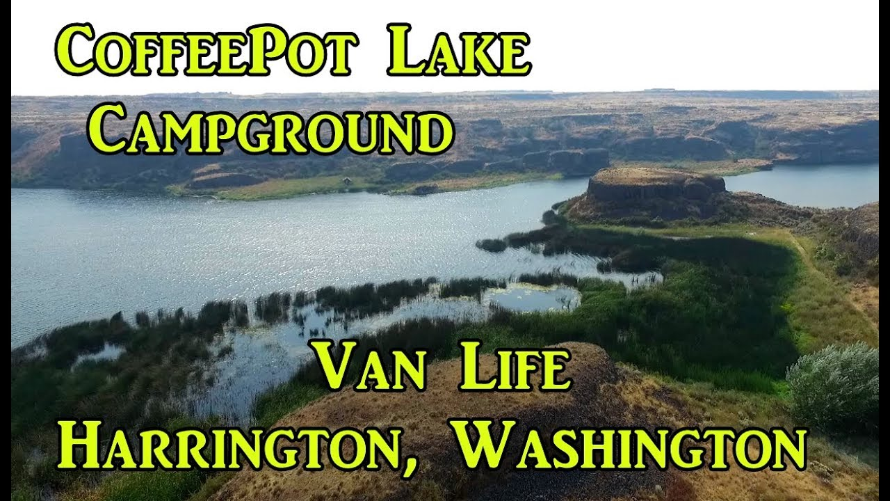 I Love This Free Campground Coffeepot Lake Vanlife On The Road