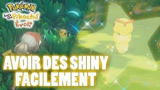 Avoir des SHINY facilement dans Pokémon Let's Go Pikachu/Évoli