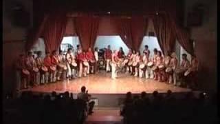 Karamogo beginners perform Garagedon, Djaraby, Koukou